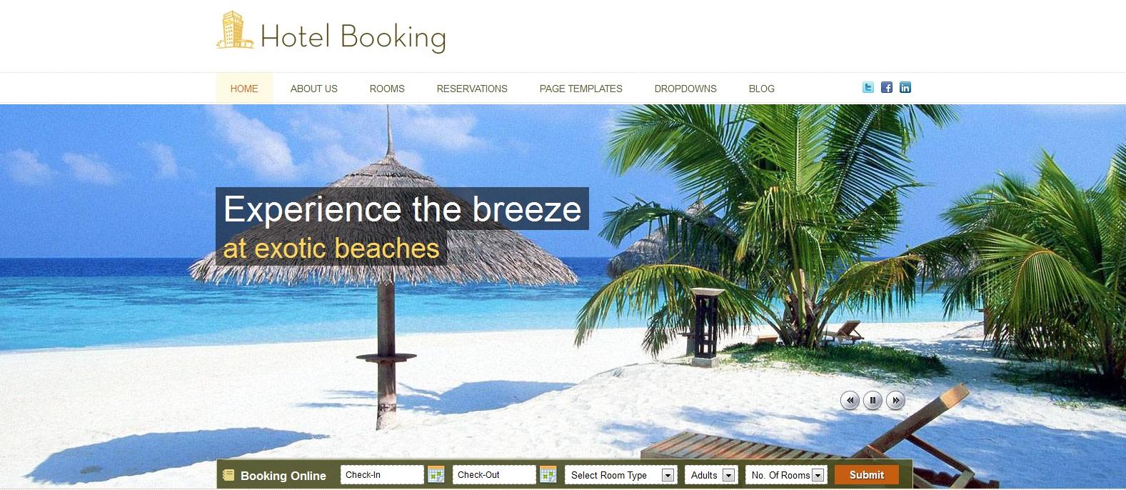Un site internet pour mon h tel for Site pour les hotels