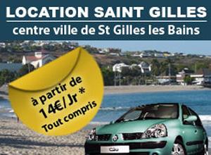 Pavé publicitaire Location St Gilles