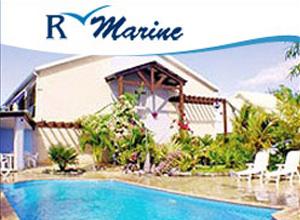 Pavé publicitaire R Marine