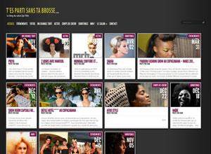 Site blog T'es Parti Sans Ta Brosse