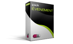 Graphisme print pack EVENEMENT