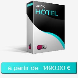 Création site internet pack HÔTEL