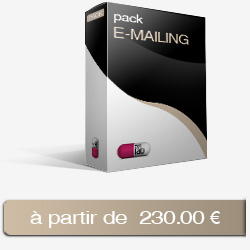 Création de newsletter PACK E-MAILING