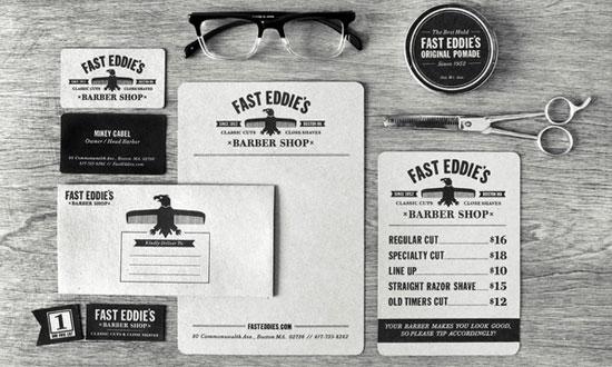 Fast Eddie's - Chartes graphiques d'entreprises originales