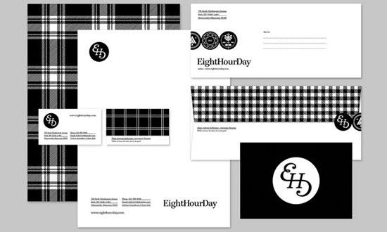 HeightHourDay - Chartes graphiques d'entreprises originales