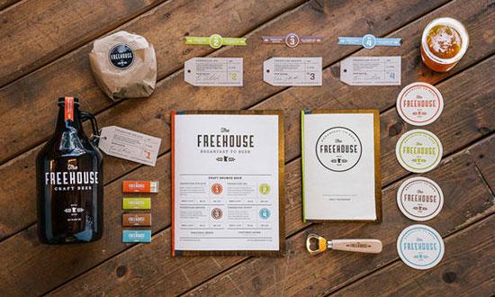 The FreeHouse - Chartes graphiques d'entreprises originales
