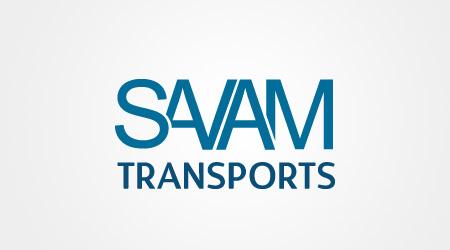 Création de logo SAVAM Transports